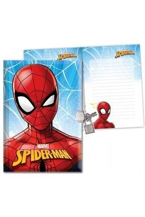 KESKİN COLOR Spider-man 104 Yaprak Erkek Çocuk Kilitli Hatıra Defteri -