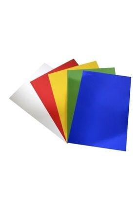 Lino 23x33 Cm Aynalı Metalik Karton 5 Renk 10'lu