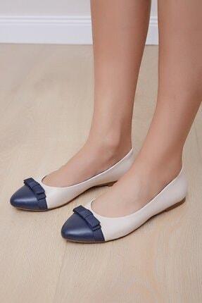 Shoes Time Kadın Bej Babet