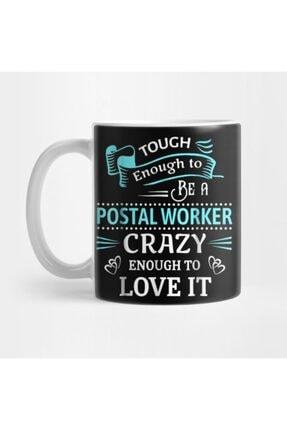 TatFast Tough Proud Postal Worker Crazy Enough To Love It Kupa