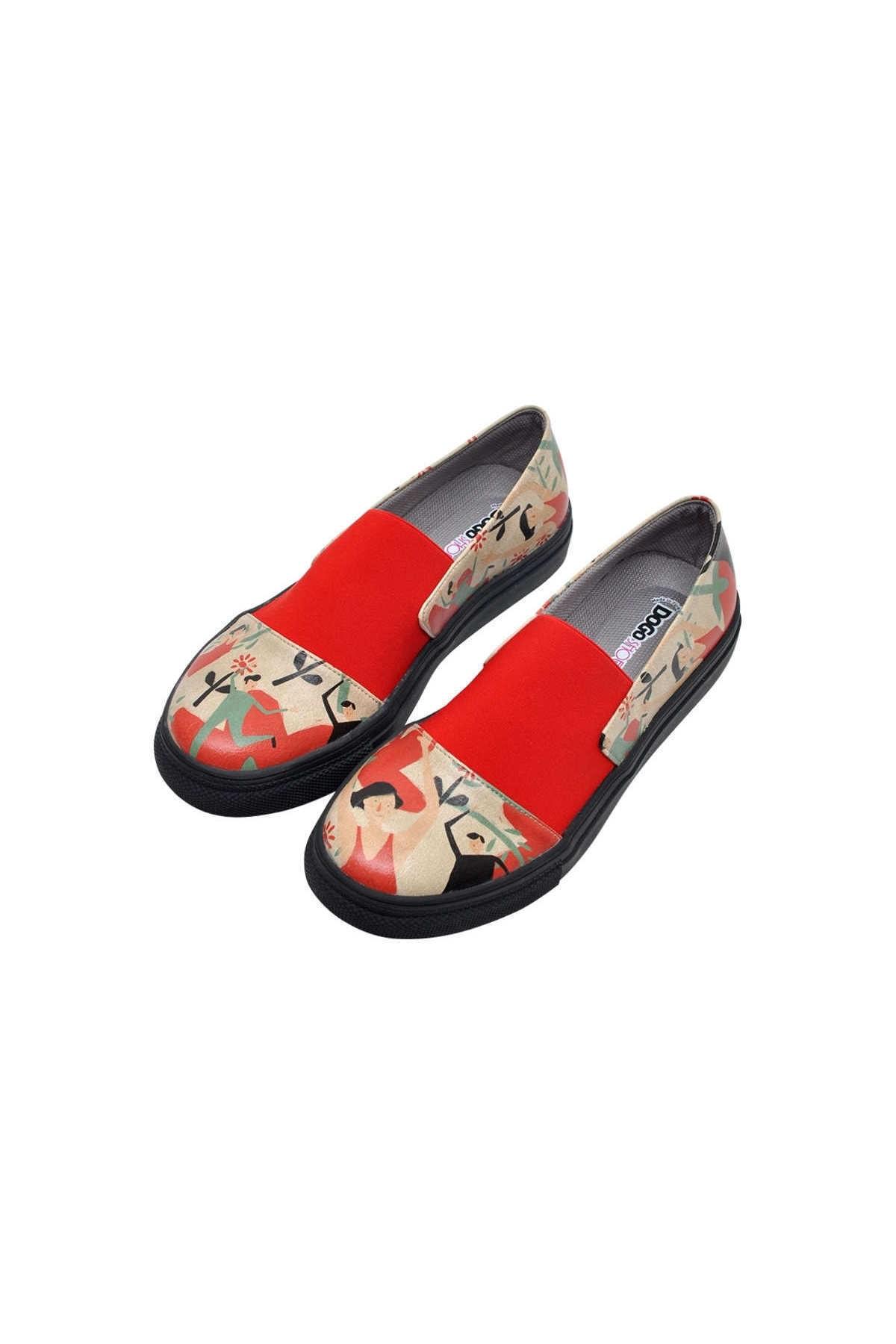 Dogo Dance Kadın Bağcıksız Sneaker 1