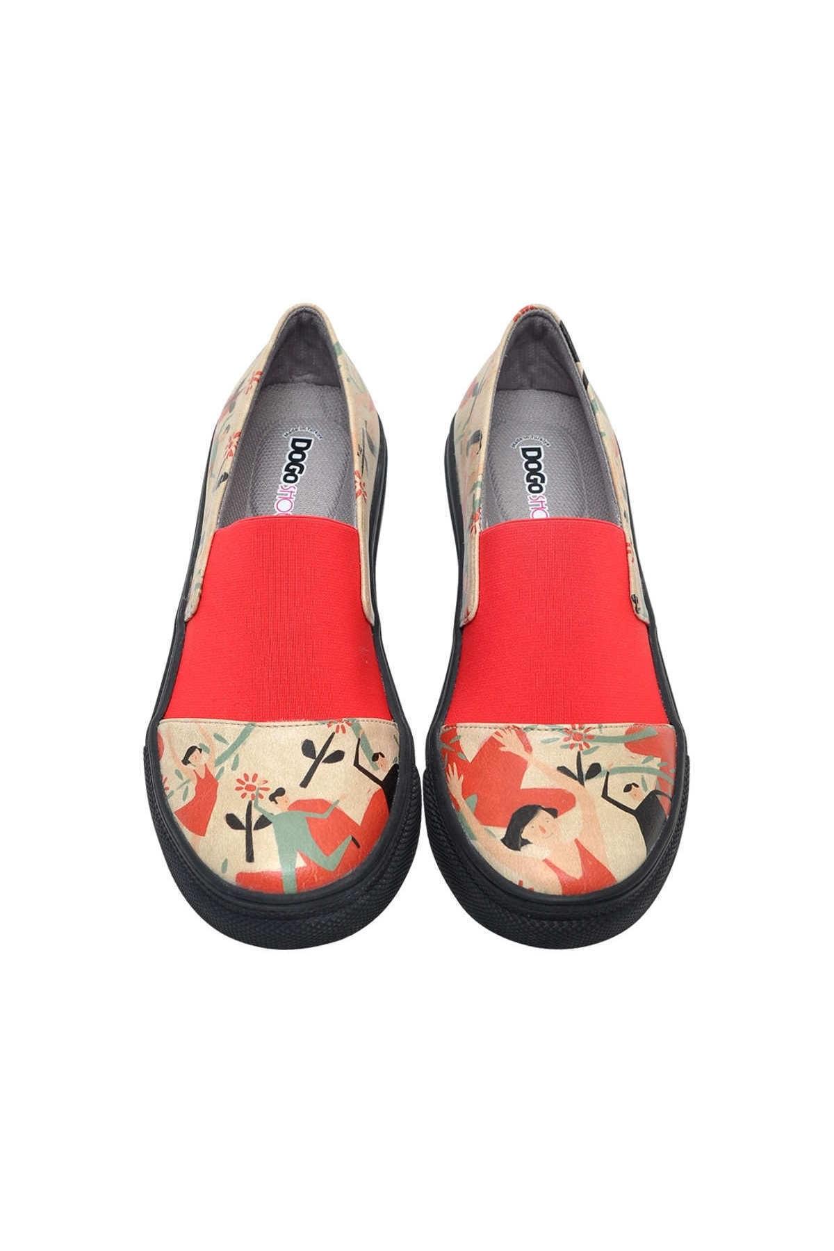 Dogo Dance Kadın Bağcıksız Sneaker 2