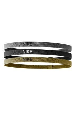 Nike Elastik Saç Bandı 3'lü Silver