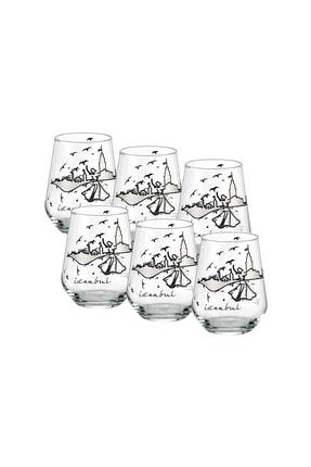 GOLDMASTER Istanbul Collection 6'lı Su Bardağı