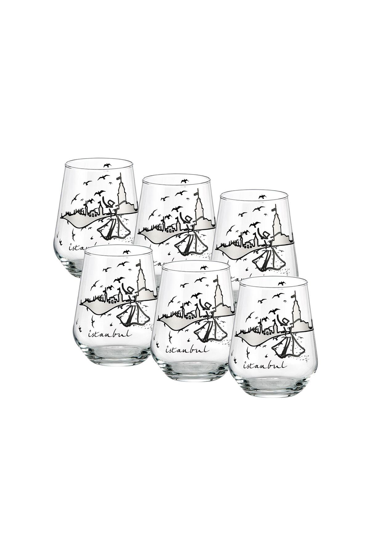 GOLDMASTER Istanbul Collection 6'lı Su Bardağı 1