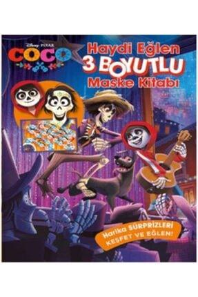 Doğan Egmont Disney Coco Haydi Eğlen 3 Boyutlu Maske Kitabı