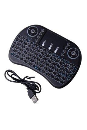 Piranha 2385 Kablosuz Smart Tv Mini Klavye Mouse Işıklı Şarjlı
