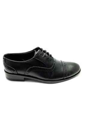 Pelikan Erkek Siyah Kundura Ayakkabı