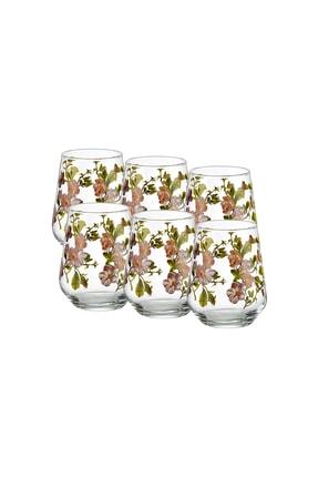GOLDMASTER Florist 6'lı Su Bardağı