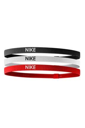 Nike Elastik Saç Bandı 3'lü Kırmızı