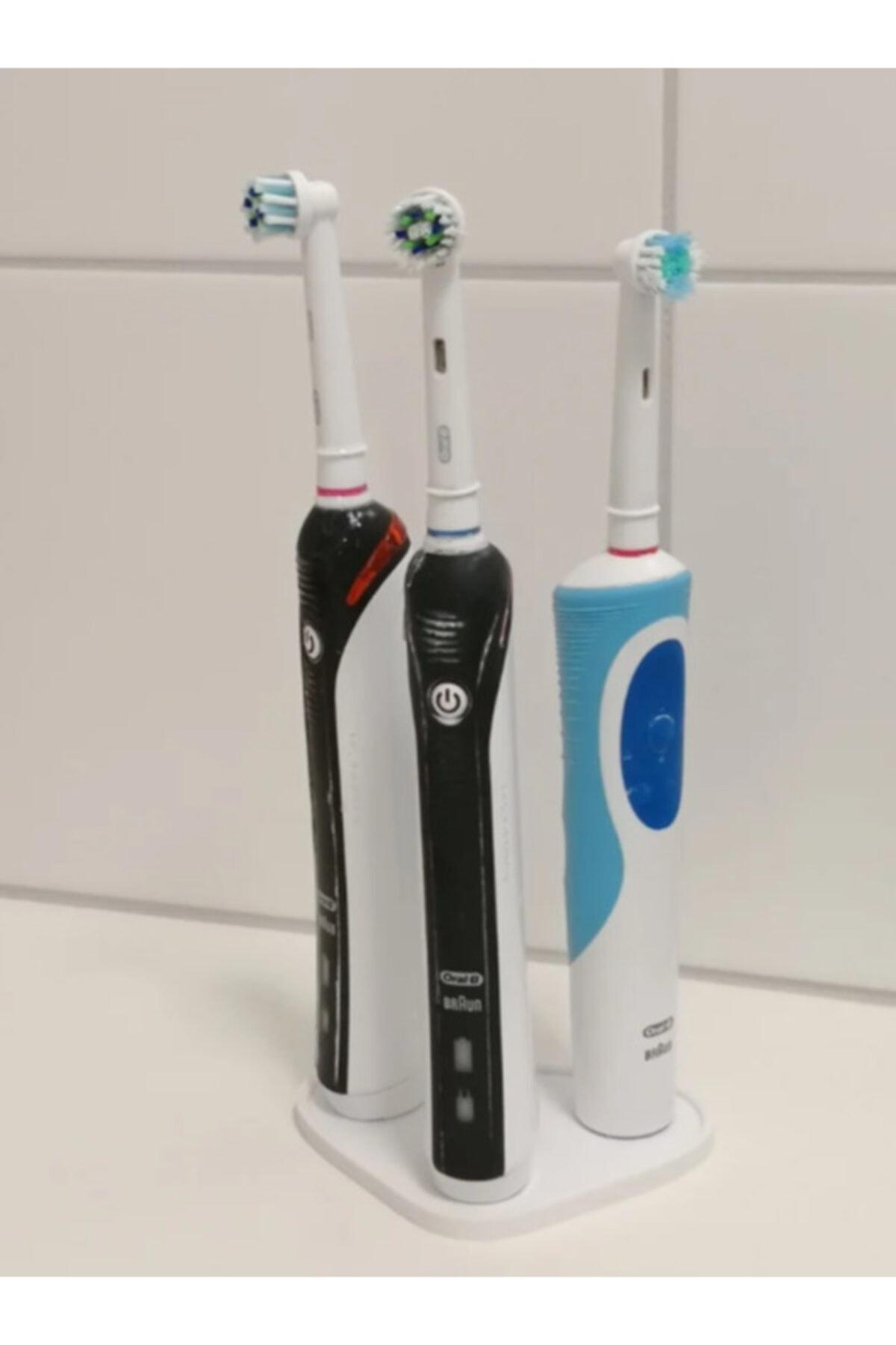 3D Oral B 3'lü Diş Fırça Standı 1