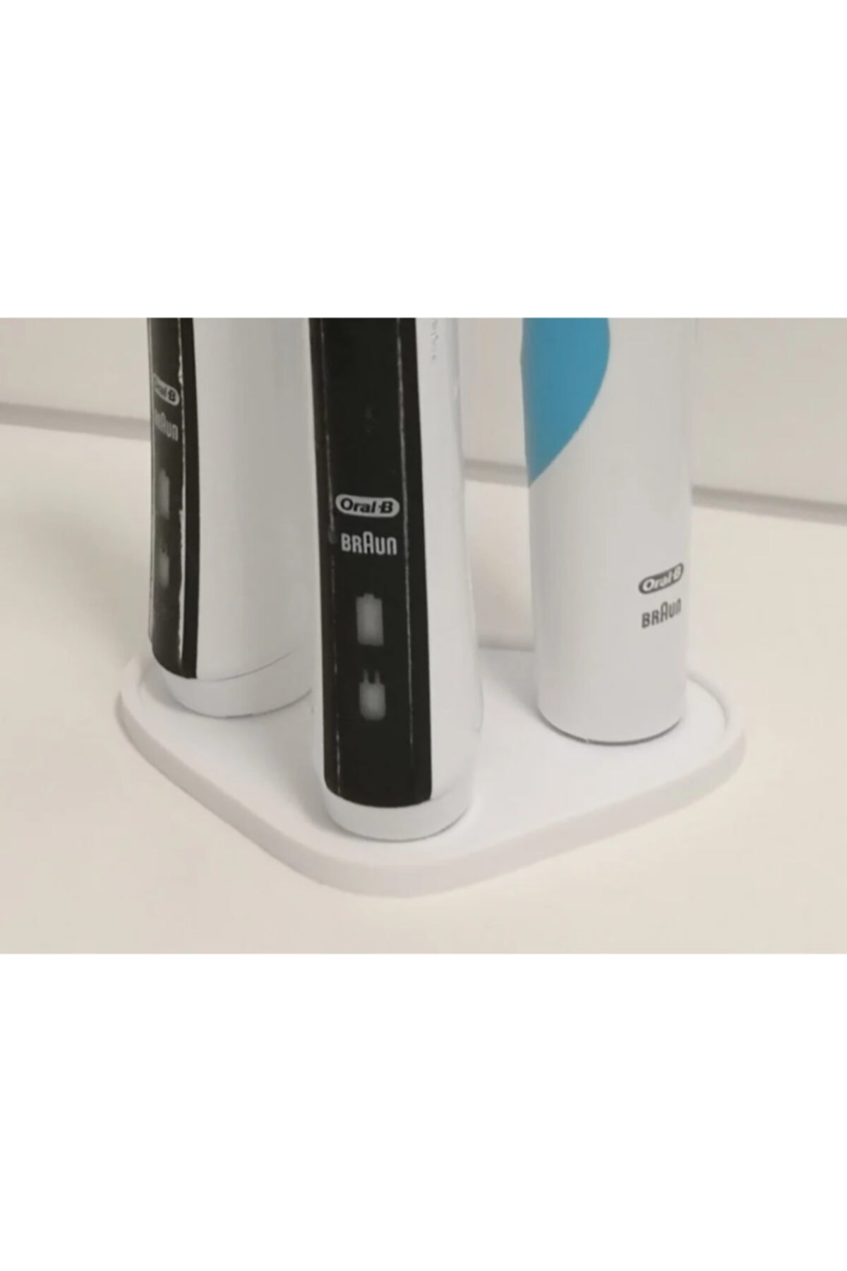 3D Oral B 3'lü Diş Fırça Standı 2
