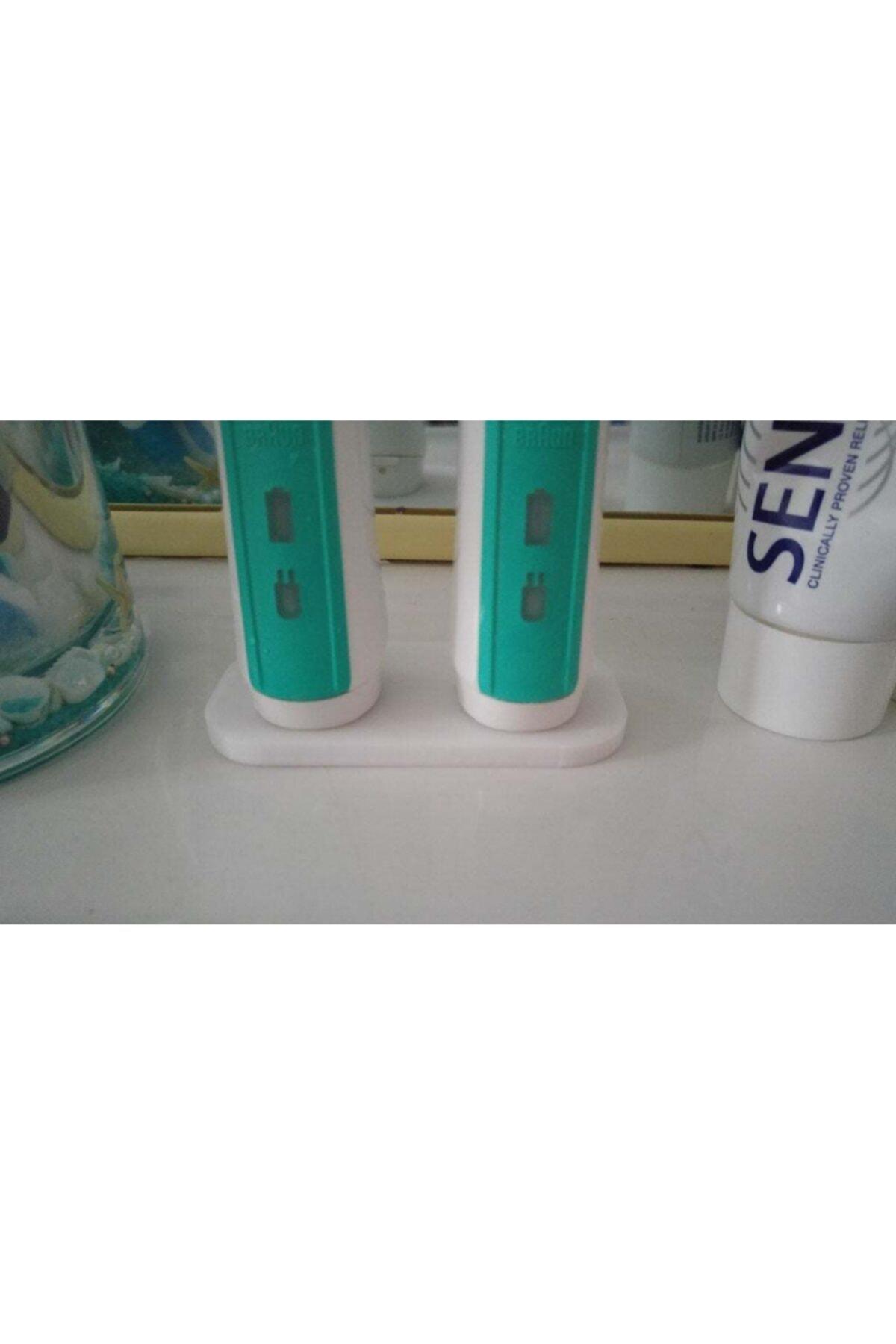 3D Oral-b Diş Fırçası Makina Standı'2li 1