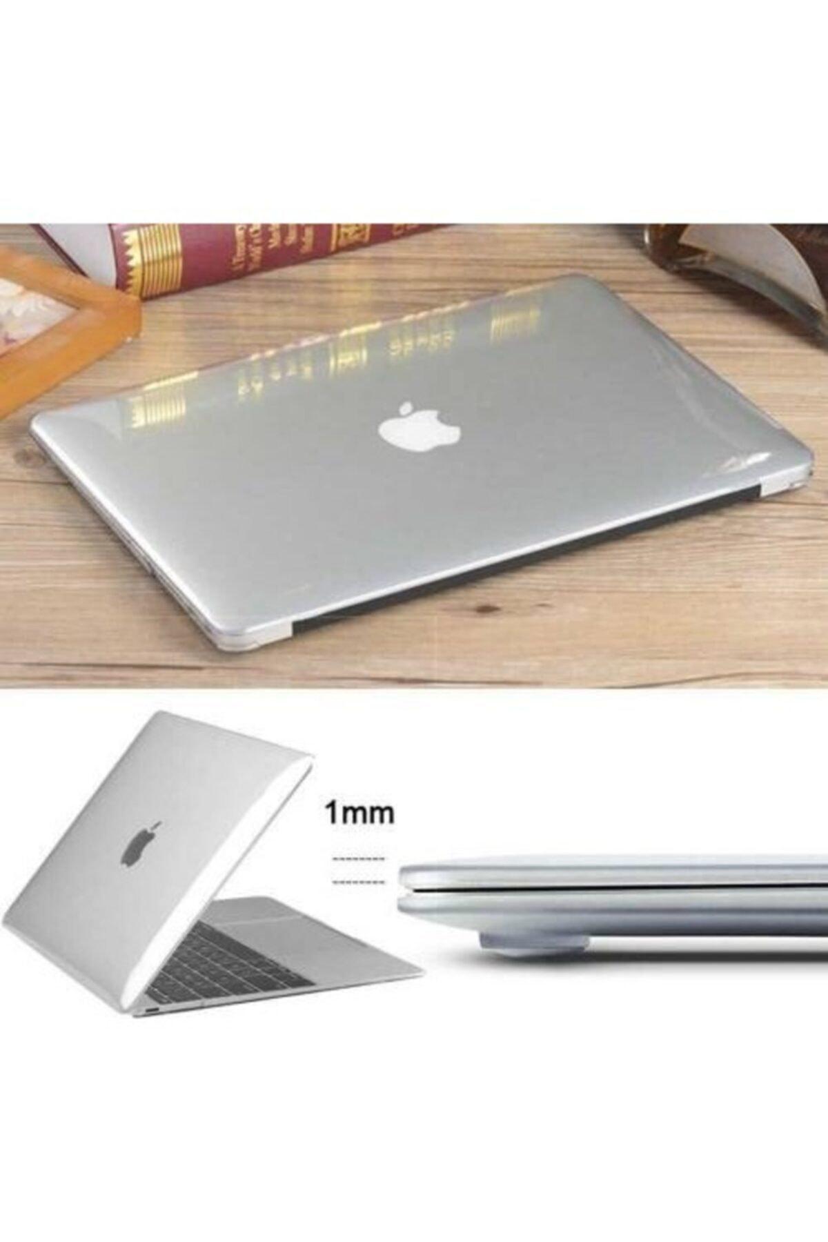 Alaca Macbook Yeni Air 13.3 Air A2179 2in1 Mat Doku Case 2020 Kılıf 2