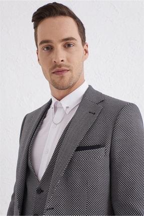 Efor Stk 002 Slim Fit Siyah Klasik Takım Elbise