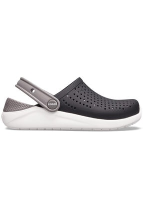 Crocs Literide Clog K -black/white- Roomy Fit -terlik -
