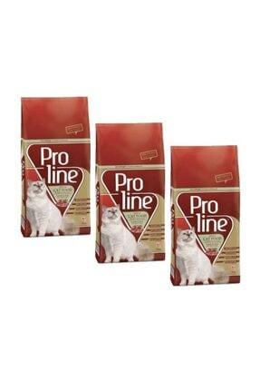 Pro Line Proline Kuzu Etli Yetişkin Kedi Maması 1,5 Kg X 3 Adet