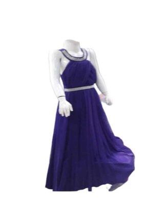 Bella Kız Çocuk Mavi Abiye Elbise