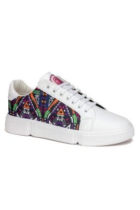 Atlanta Erkek Beyaz Günlük Sneaker Ayakkabı