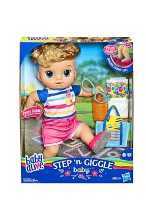 Baby Alive Işıklı Ayakkabılarıyla Neşeli Bebeğim E5244