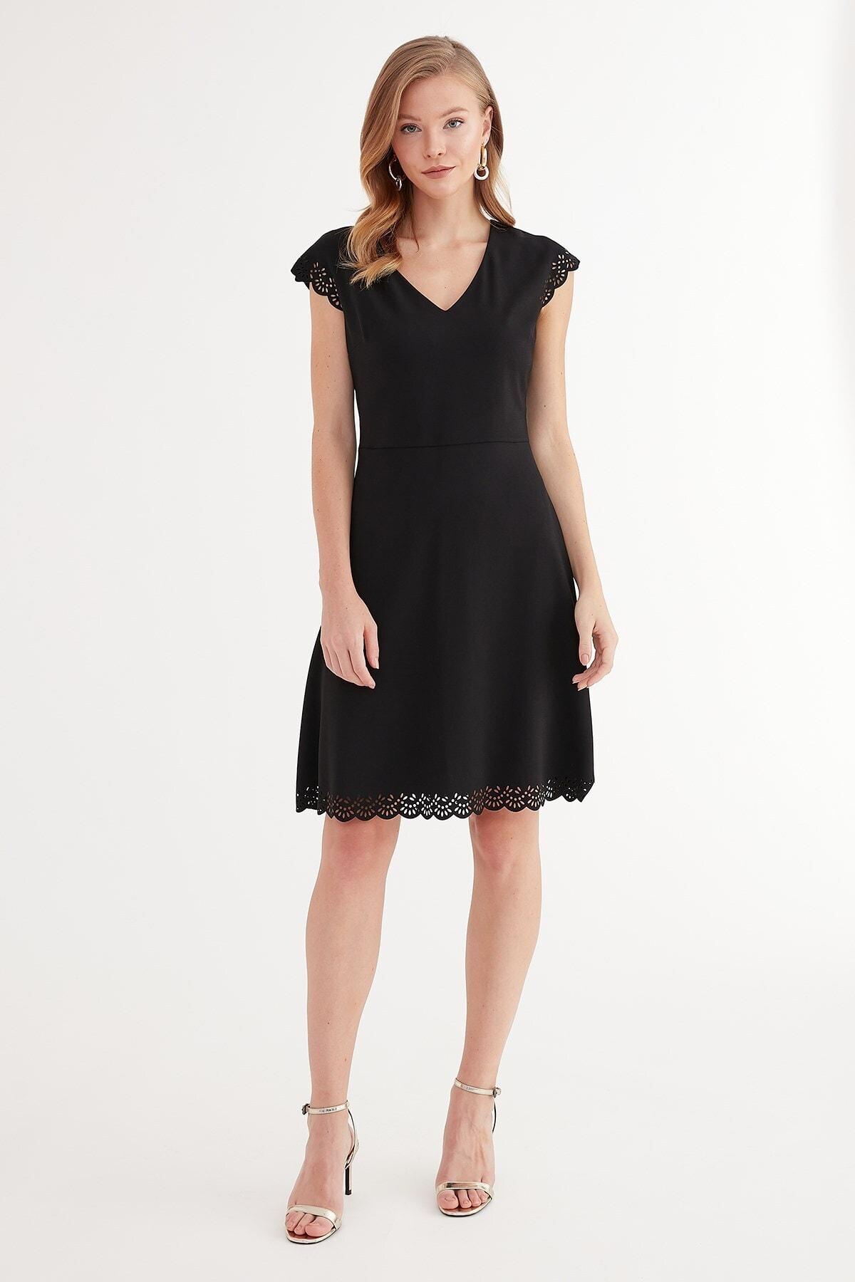 Journey Kadın Siyah Elbise 1