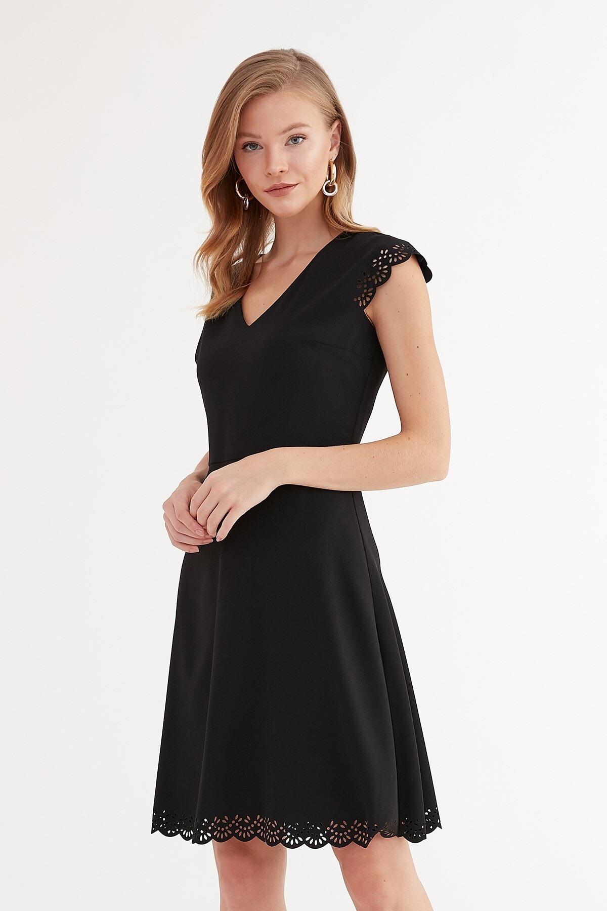 Journey Kadın Siyah Elbise 2