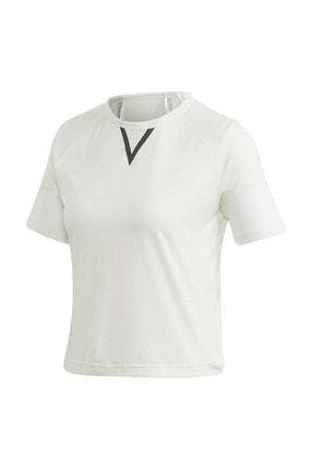adidas Kadın Spor T-Shirt -  Crop Tee  - GH7369