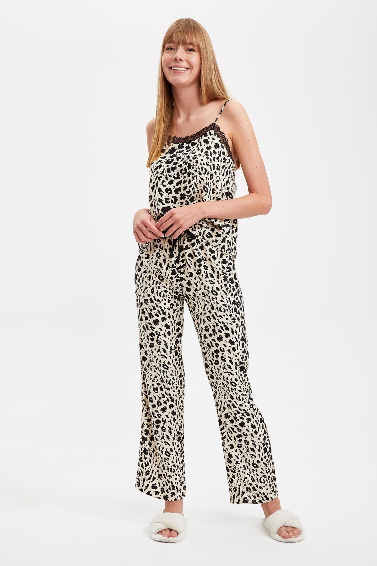 DeFacto Dantelli Pijama Takımı 1