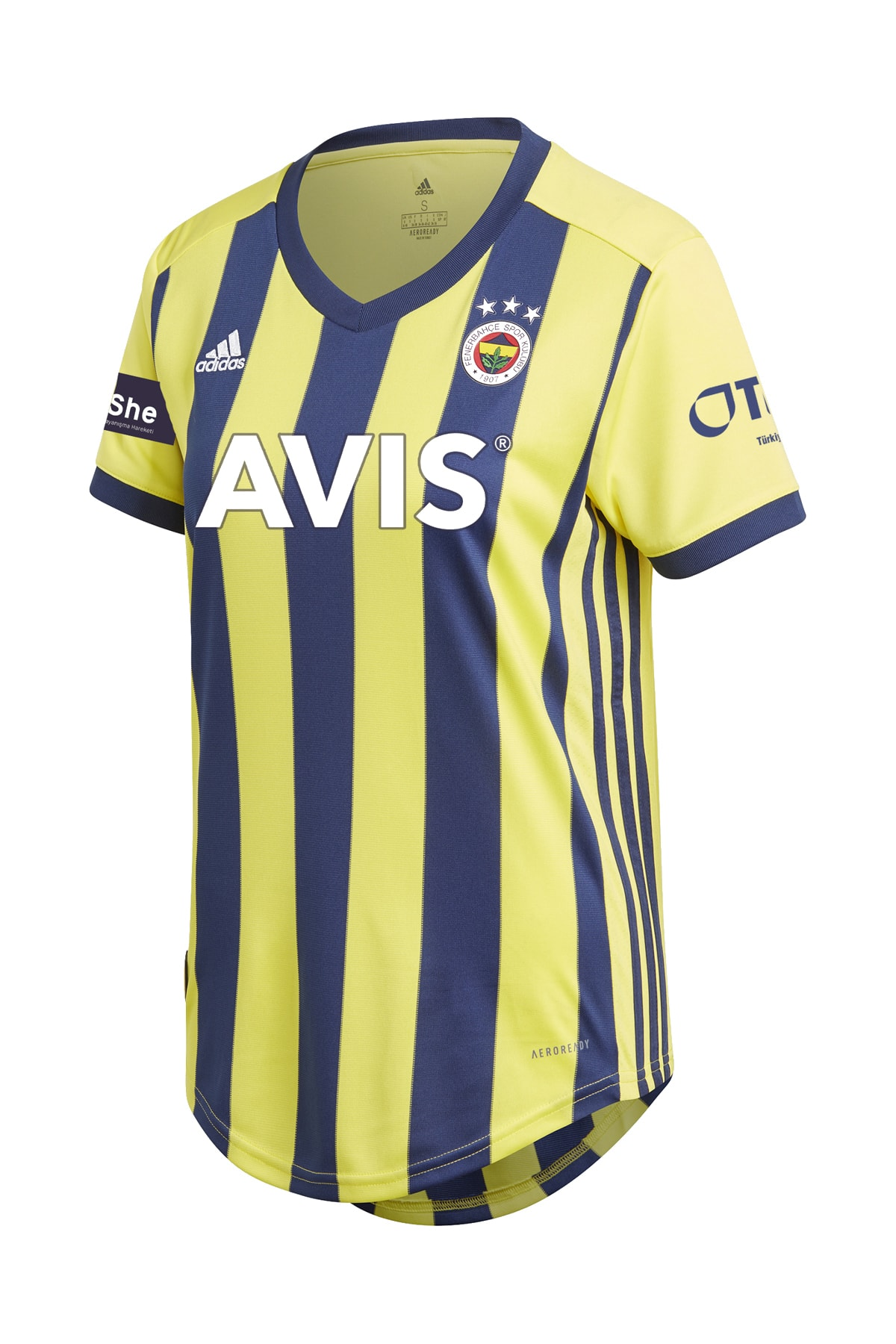 Fenerbahçe FB 20 KADIN ÇUBUKLU MAÇ FORMASI 1