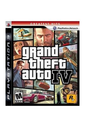 Rockstar Grand Theft Auto IV Ps3