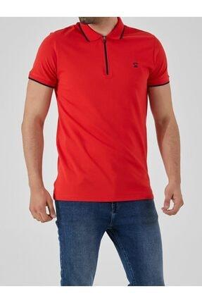 Ltb Erkek  Kırmızı Polo Yaka T-Shirt 0122084075609440000