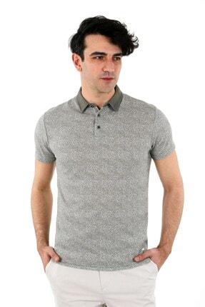 Jakamen Haki Slim Fit T-shirt Polo Yaka