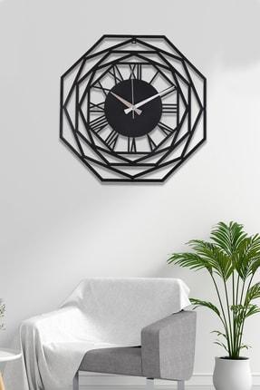 Muyika Design Muyika Repido Metal Siyah Duvar Saati 41x41cm