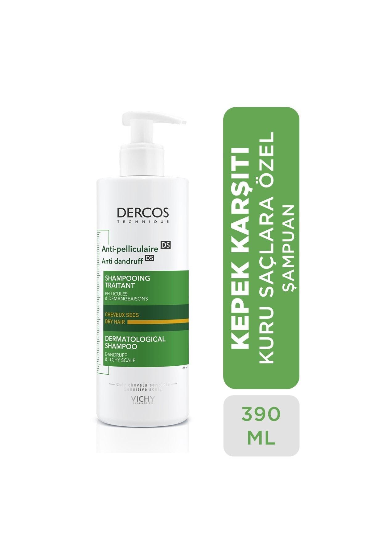 Vichy Dercos Anti Dandruff Dry Kepek Karşıtı Bakım Şampuanı 390 ml 1