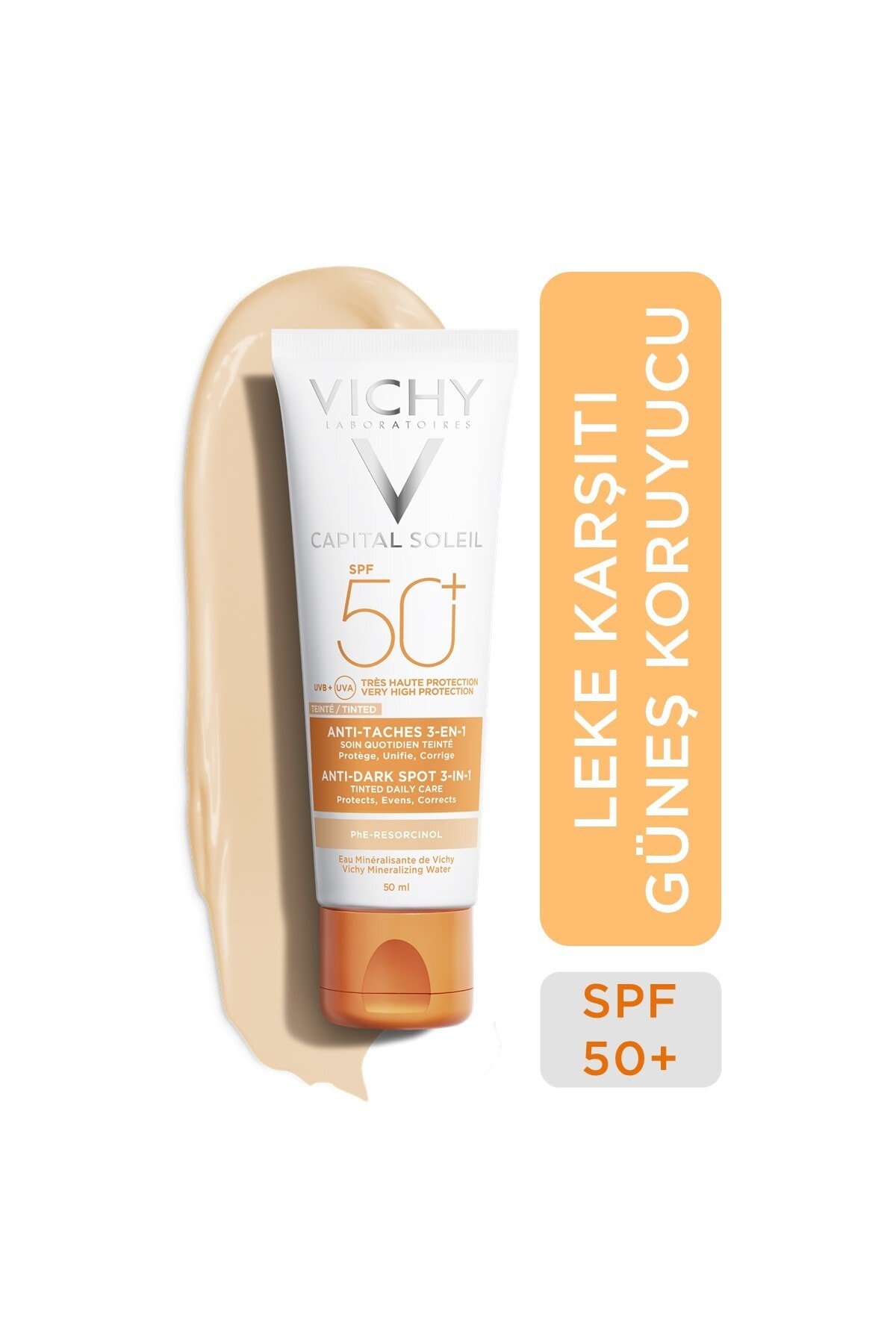 Vichy Ideal Soleil Spf50+ Anti-dark Spots 50 Ml 1