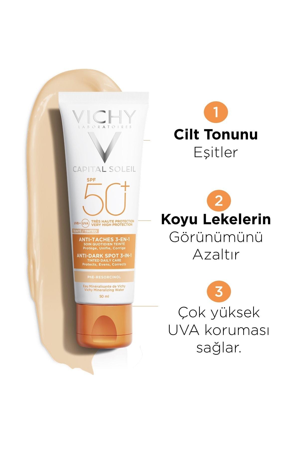 Vichy Ideal Soleil Spf50+ Anti-dark Spots 50 Ml 2