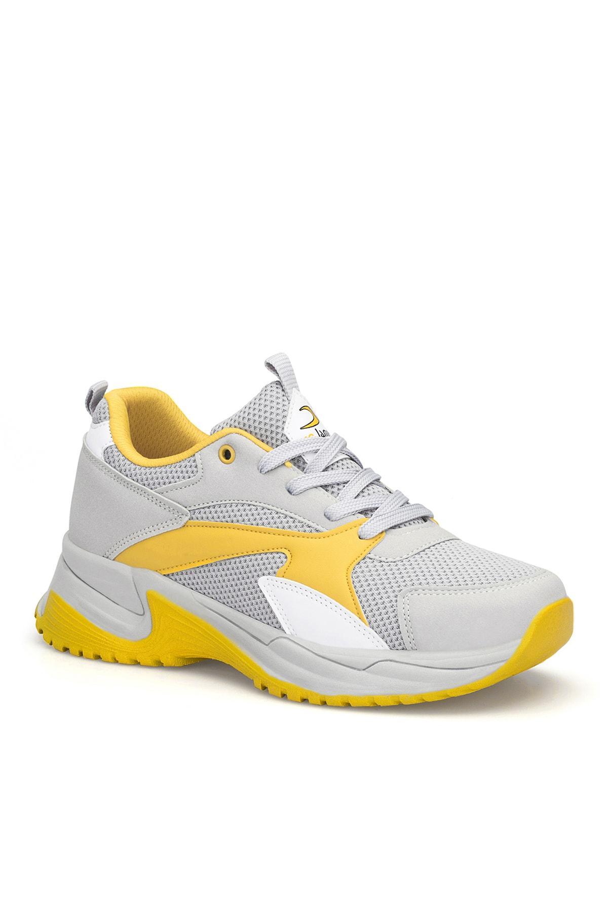 DARK SEER Buz Sarı Kadın Sneaker DS.MJ1812 2