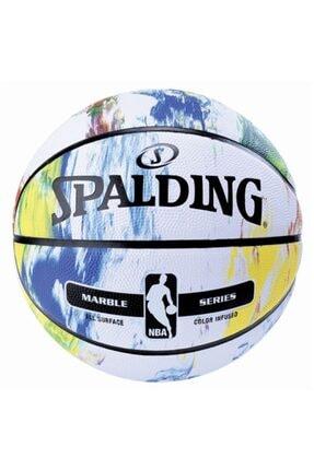 SPALDING Basket Topu Nba Marble Serıes Raınbow