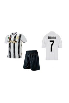 akyüz Juventus Forması Ronaldo Forması Çocuk Forma Takımı Forma+şort