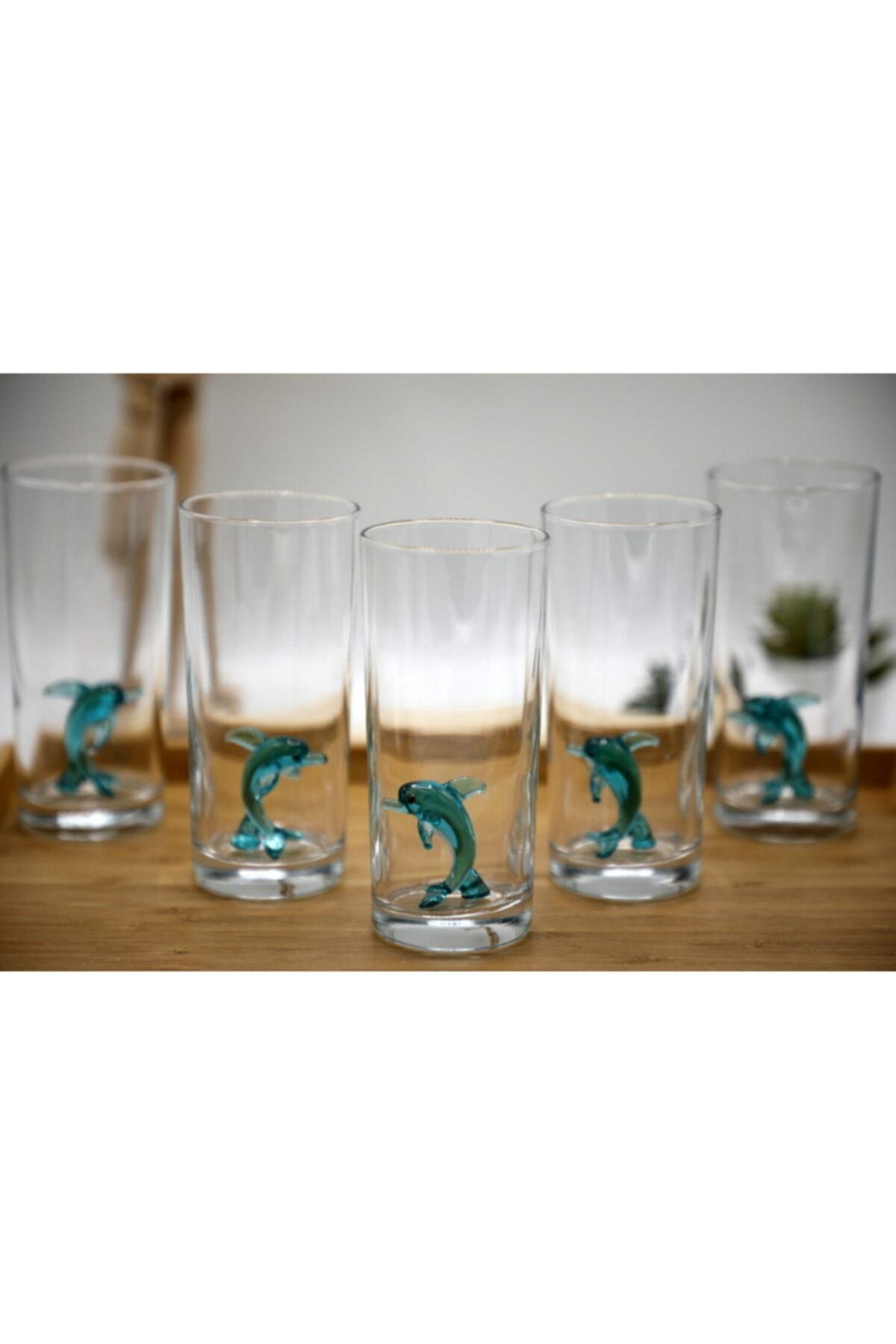 mozaikturk Hayvan Figürlü Rakı Bardağı Seti 6'lı 2
