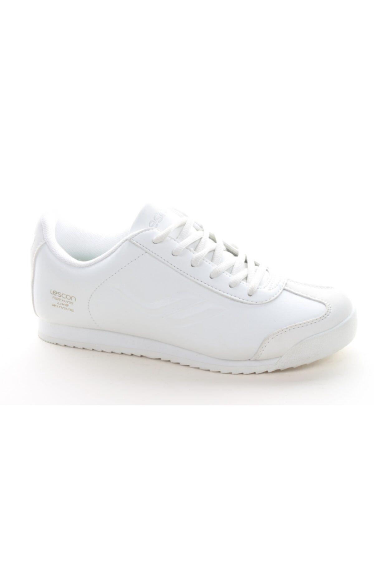 Lescon Unisex Beyaz Günlük Spor Ayakkabı L-6619 1
