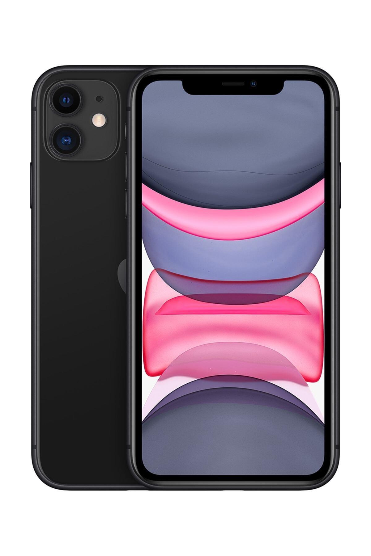 Apple iPhone 11 128GB Siyah Cep Telefonu (Apple Türkiye Garantili) Aksesuarlı Kutu 1