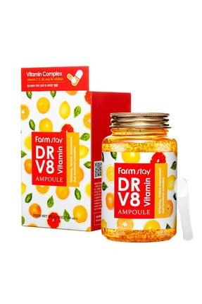 Farmstay C Ve E Vitaminler Ile Kollajen, Beyazlatıcı, Sivilce, Çatlak Ve Kırışıklık Karşıtı Ampül Krem 250 Ml