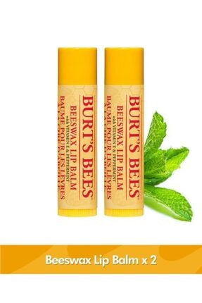 Burts Bees Beeswax Dudak Bakım Kremi Blister Ambalaj - Beeswax Lip Balm Blister 4,25 G X 2 Adet