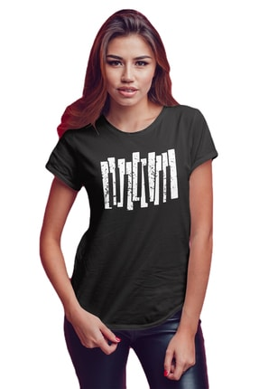Koala Kadın Siyah T-Shirt