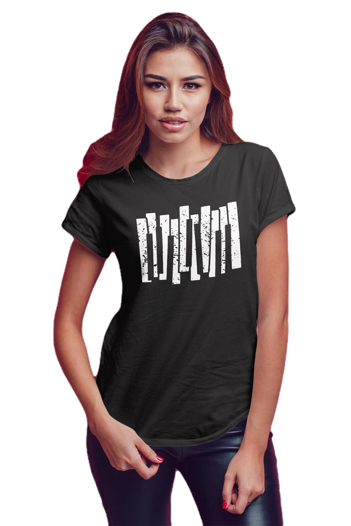 Koala Kadın Siyah T-Shirt 1