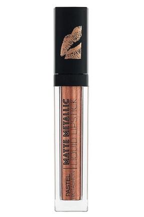 Pastel Profashion Matte Metallic Liquid Lipstick No 505 Golden Age - Mat Metalik Likit Ruj