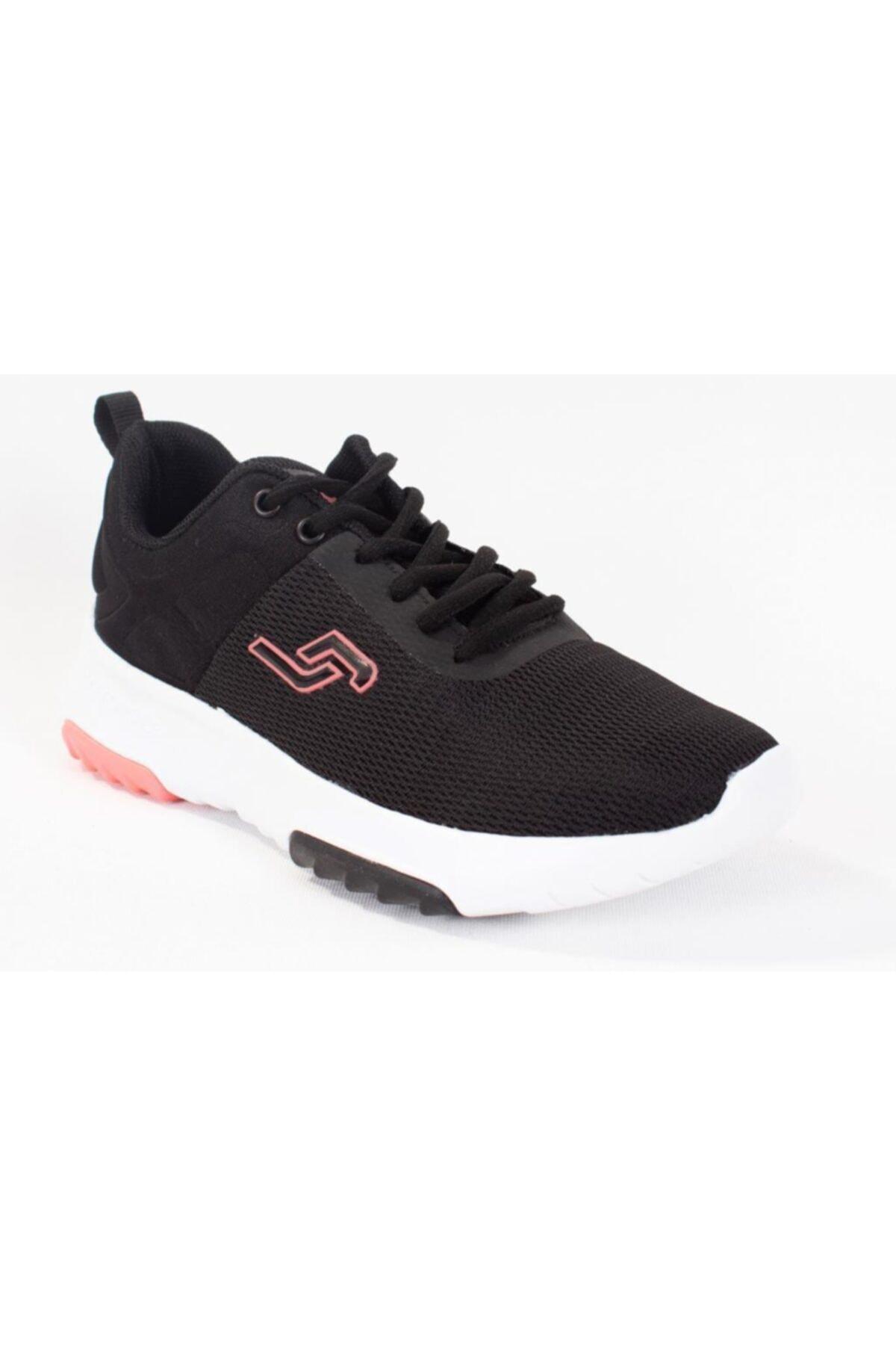 Jump Kadın Spor Ayakkabı 24879 Siyah-somon pembe 20S04024879 1