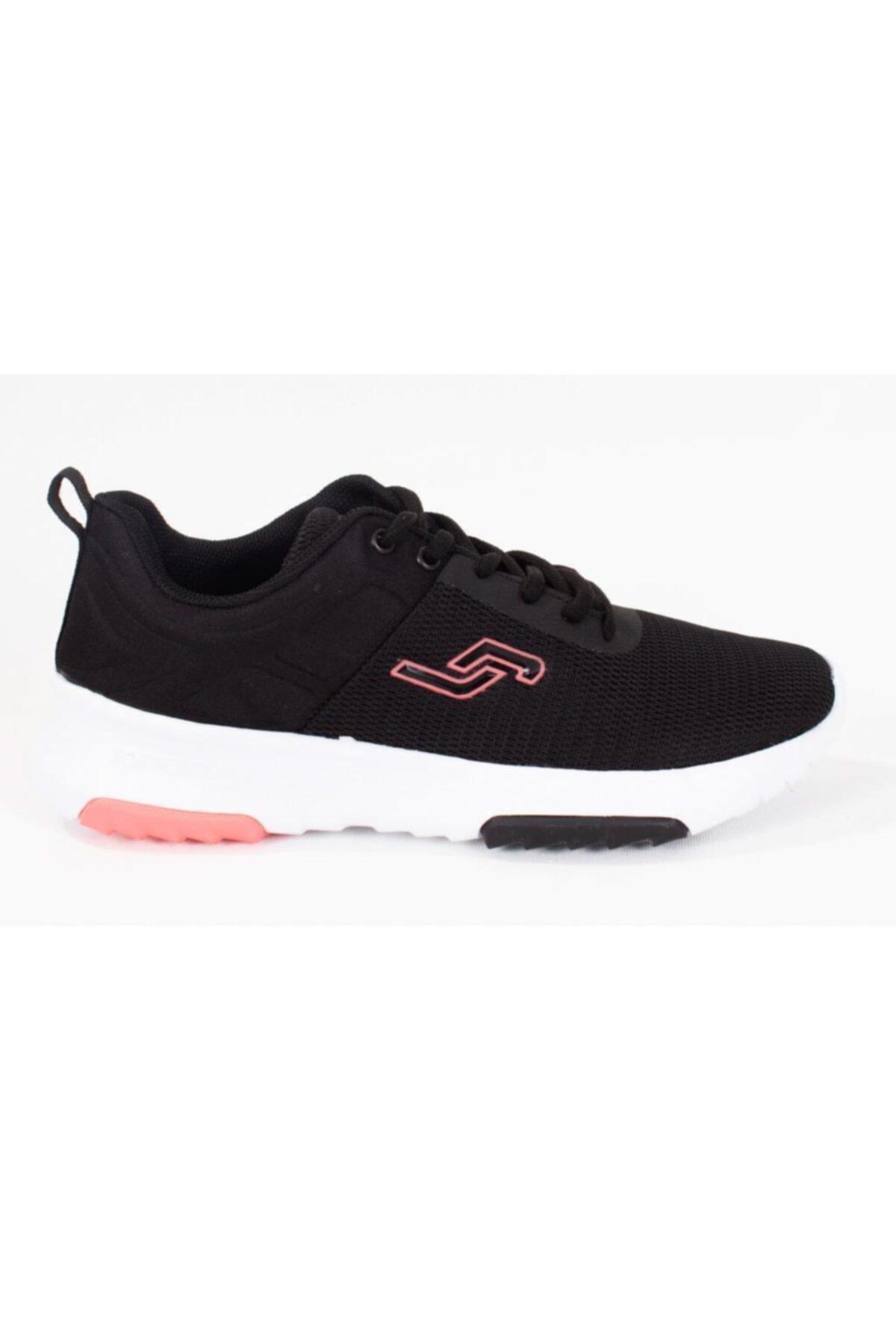 Jump Kadın Spor Ayakkabı 24879 Siyah-somon pembe 20S04024879 2