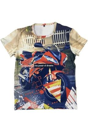 Prosev Honda Motosiklet Erkek T-shirt